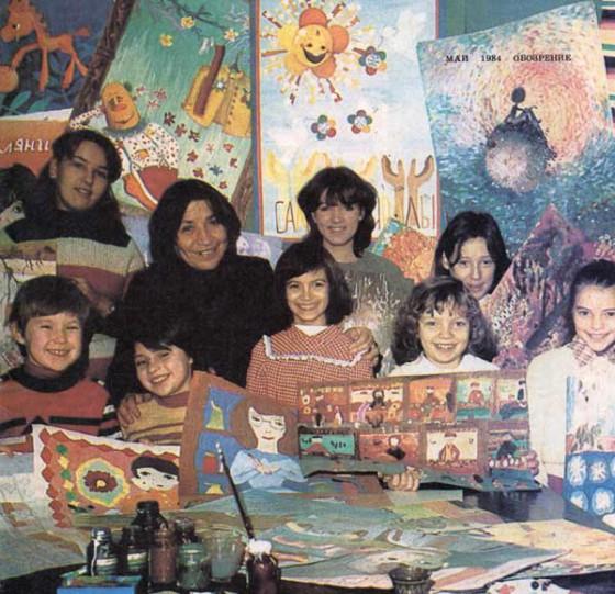 участники детской мультипликационной студии Флоричика - Кишнев, Фото А. Зуева